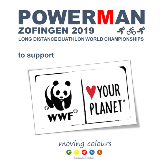 Powerman Zofingen 2019 to support WWF